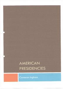Preview of American Presidencies (1968-2001)