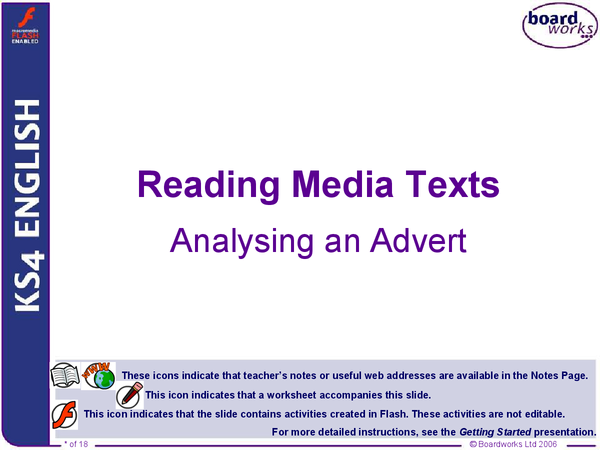 Preview of Analysing Media Texts