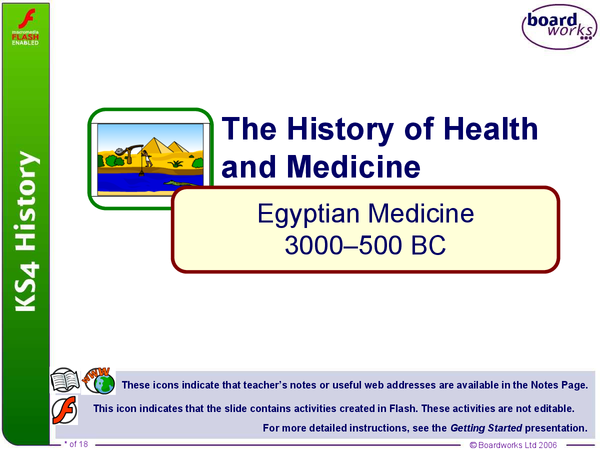 Preview of Ancient Egyptian Medicine