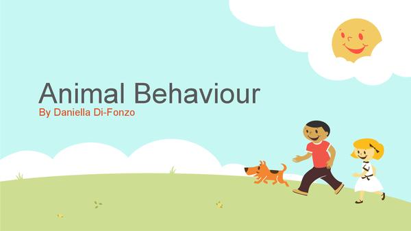 Preview of animal behaviour f215 ocr spec 2008