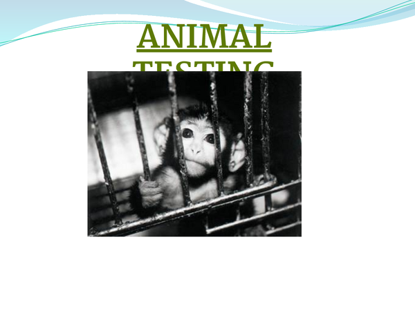 Preview of Animal Testing