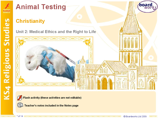 Preview of Animal Testing Christianity