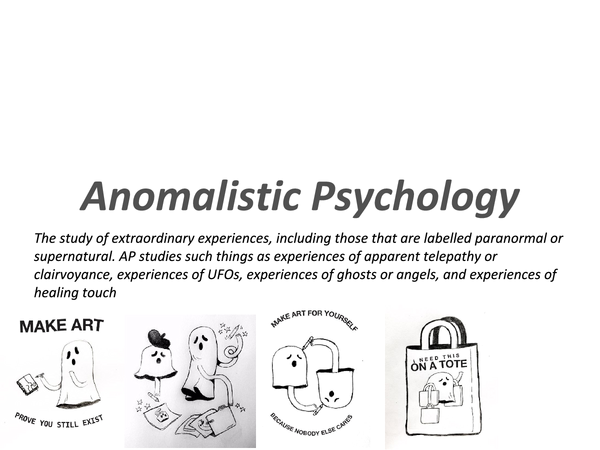 Preview of Anomalistic Psychology Powerpoint