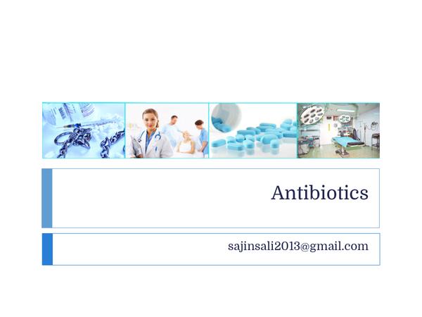 Preview of Antibiotics