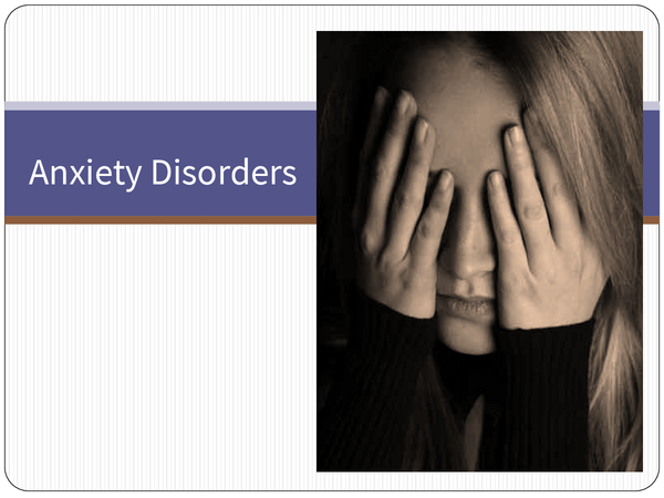 Preview of Anxiety Disorders