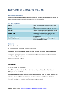 Preview of Applied Business - Recruitment Documentation