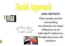 Preview of Approaches and Perspectives with Studies