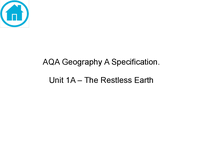 Preview of AQA Geography A - The Restless Earth.pdf