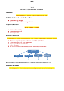 Preview of AQA A2 Business Studies Unit 3 Notes