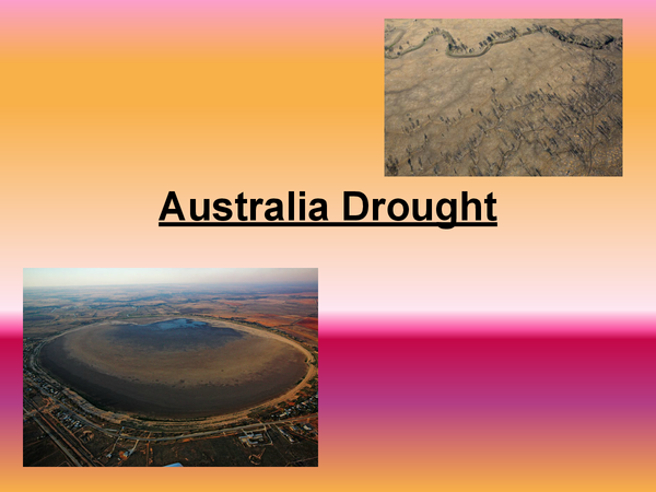 Preview of AQA Alevel As Geography Australia Drought (case study population change)
