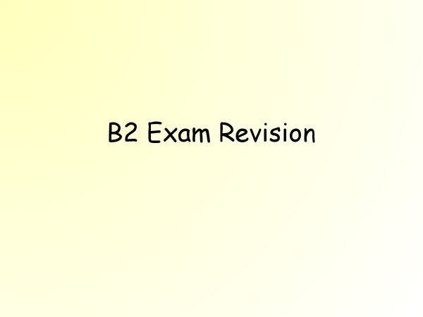 Preview of AQA B2 Biology: Complete Revision