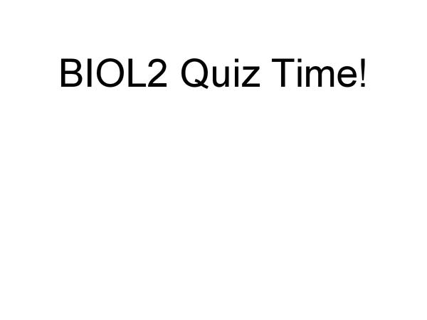 Preview of AQA BIOL2 Quiz
