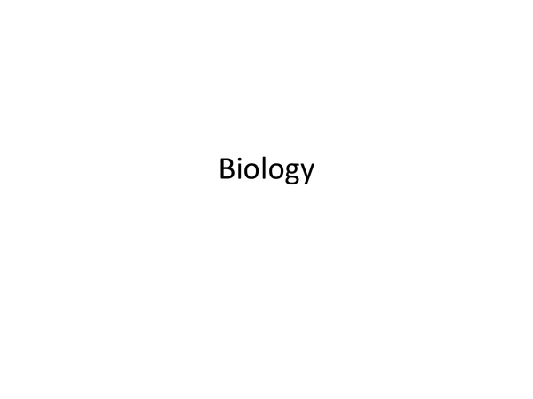Preview of AQA biology Unit 2 notes
