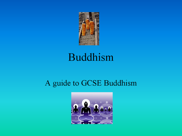 Preview of AQA Buddhism Short Course Respect