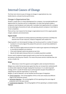 Preview of AQA BUSS4 - Managing Change