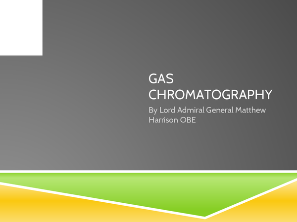 Preview of AQA C2: Chromatography TLC and GC-MS