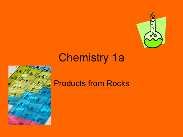 Preview of AQA Chemistry, Core Science - C1a