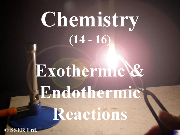 Preview of AQA Endothermic and Exothermic Reactions