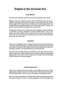 Preview of AQA English Lit - Theme: Empire