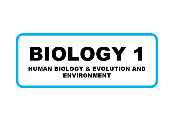 Preview of AQA GCSE Biology 1