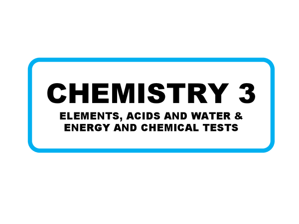 Preview of AQA GCSE Chemistry 3