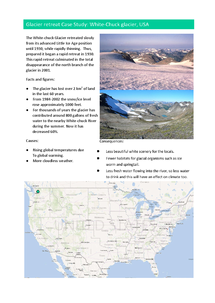Preview of AQA GCSE Geography A Ice on Land Case Studies