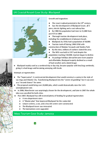 Preview of AQA GCSE Geography A Tourism Case Studies