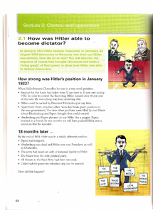Preview of AQA GCSE History Nazi Germany 1919-1945