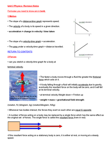 Preview of AQA GCSE Physics - unit 2 (Higher)