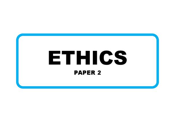 Preview of AQA GCSE Religious Studies Ethics
