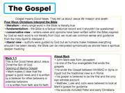 A Study of the Gospel of Mark GCSE CCEA