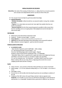 Preview of AQA Moral Philosophy A2 Notes