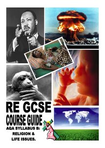 Preview of AQA Religious Education Revision Booklet