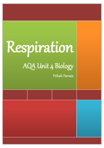 Preview of AQA Respiration