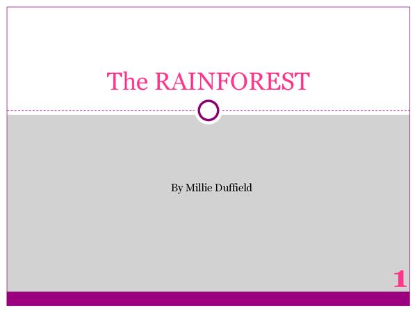 Preview of AQA Textiles Exam Preliminary: Rainforest