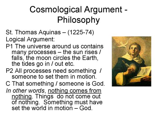aquinas arguments