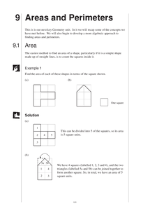 Preview of Area and Perimeter