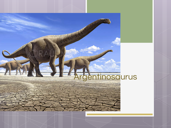 Preview of argentinosaurus