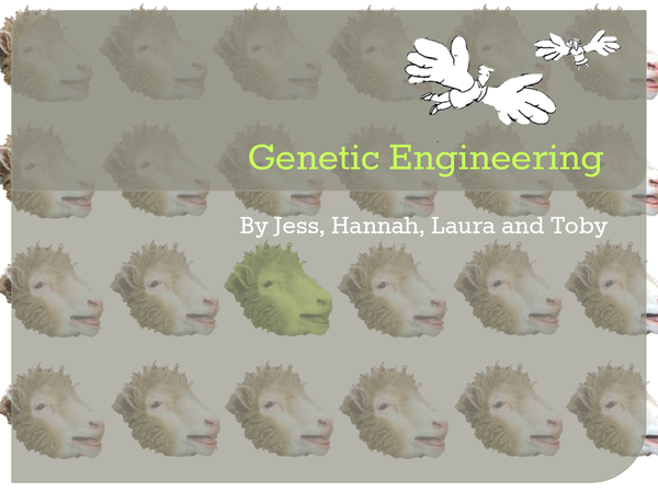 Preview of Arguments for Genetic Engineering & Cell Therapy
