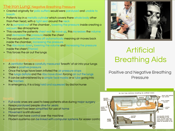 Preview of Artficial Breathing Aids