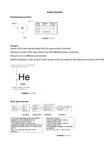 Preview of AS AQA Chemistry