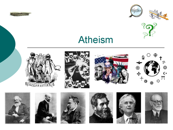 Preview of AS ATHEISM AND POSTMODERNISM POWERPOINT