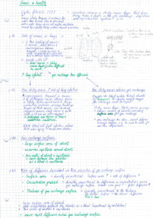 Preview of AS biology notes unit 1 topic 2