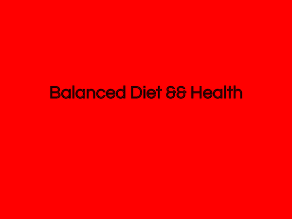 Preview of AS Biology OCR Balanced Diet and Health