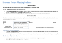 Preview of AS Business:  Economic factors affecting business