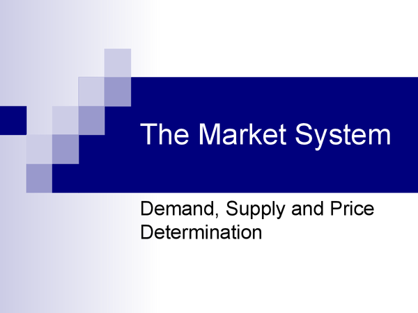 Preview of AS Business: Supply and demand powerpoint