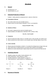 Preview of AS CHEM2 - Alcohols