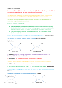 Preview of AS Chemistry Chapter 1.7 - Alkenes