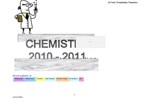 Preview of As Chemistry Unit 1 study Guide