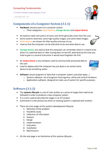 Preview of AS Computing OCR F451